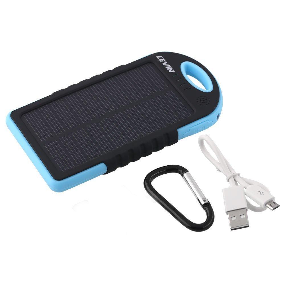 Levin caricabatterie pannello solare