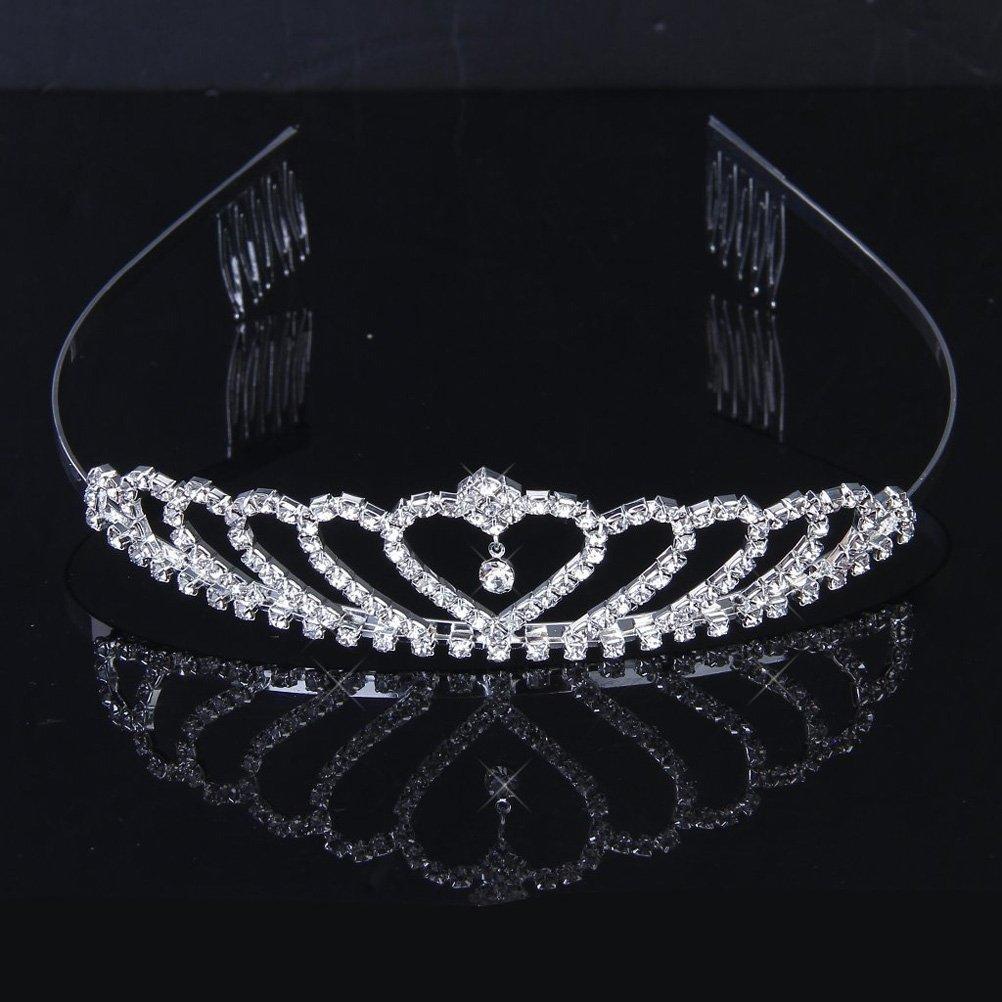 Tinksky tiara color argento