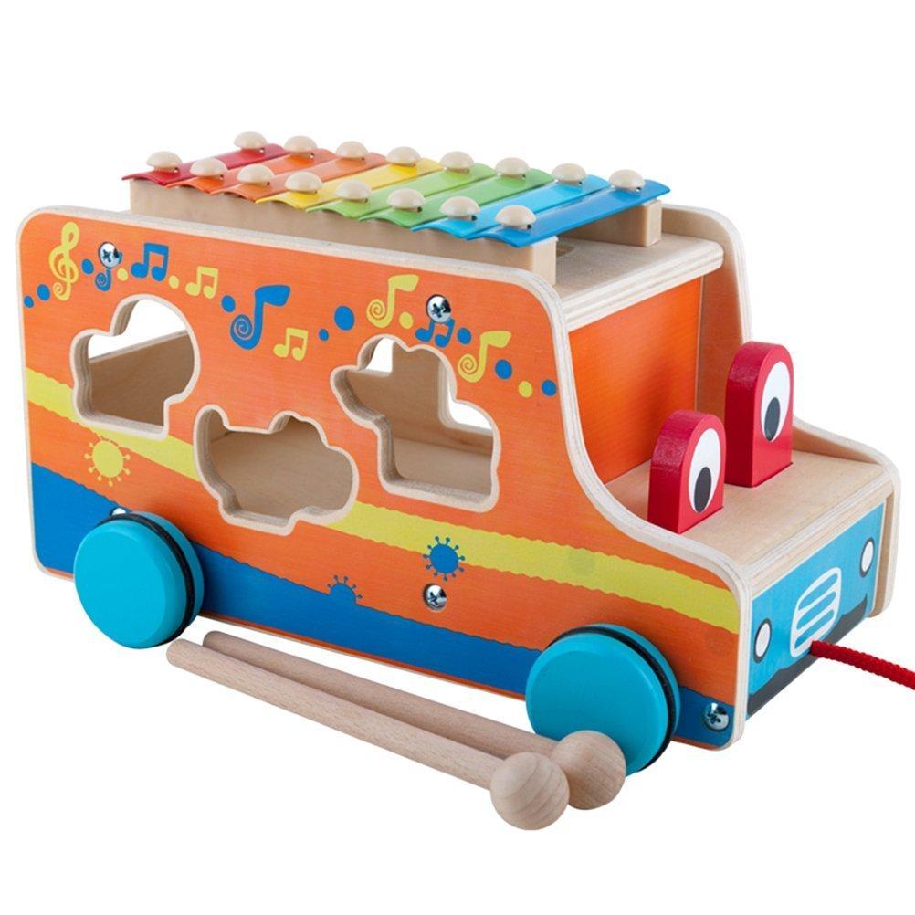 Camioncino legno giocattolo bambini