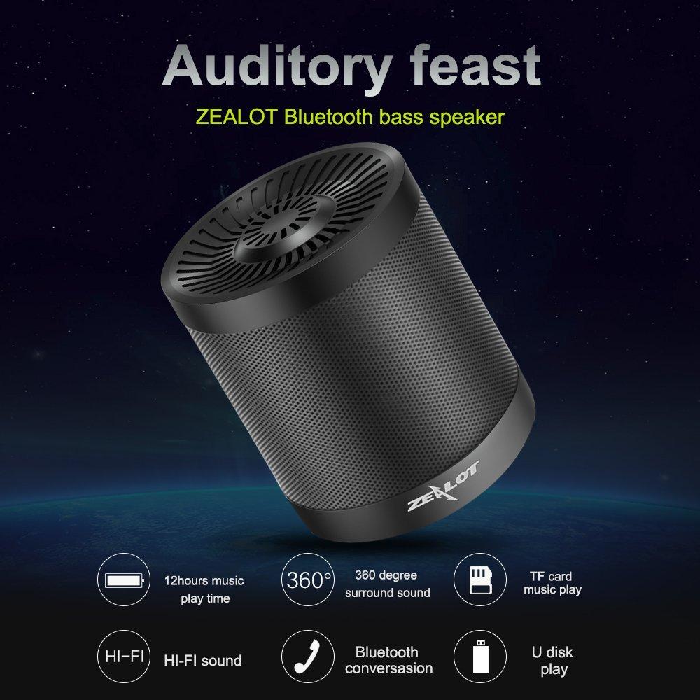 Zealot bluetooth bass speaker