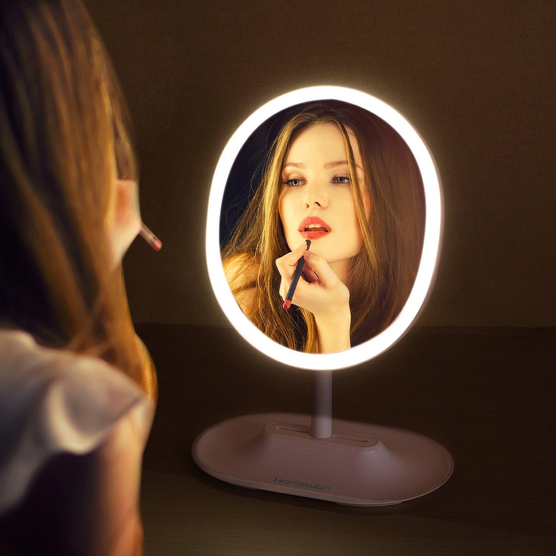 Hamswan specchio donne makeup tavolo