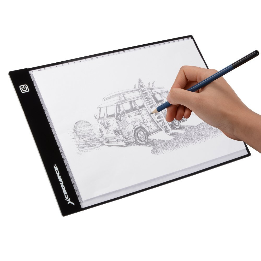 Drawing table led