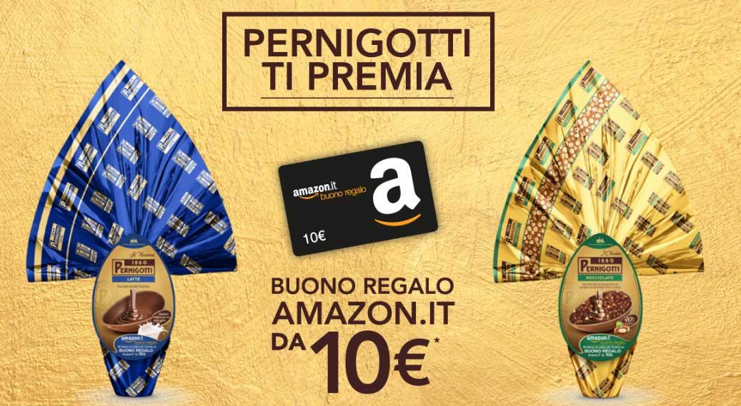 Pernigotti ti premia amazon 10 euro