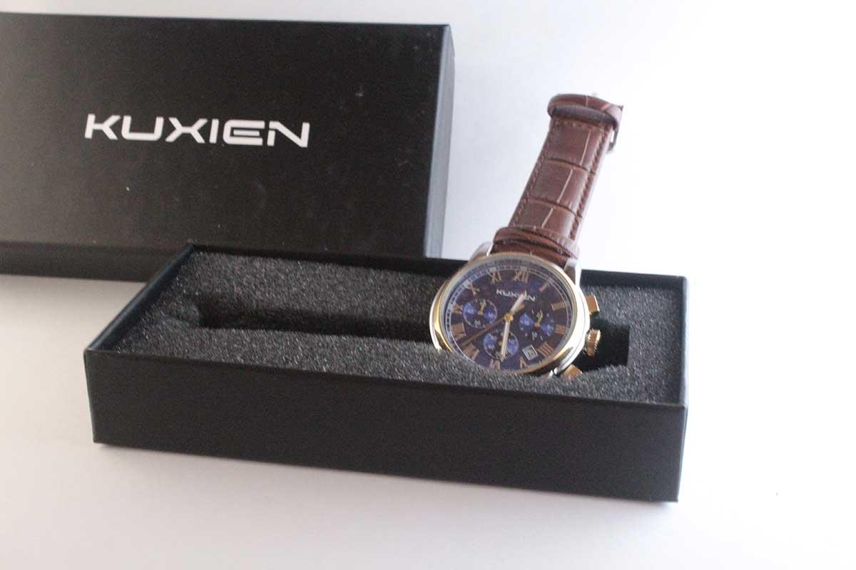 Kuxien orologio uomo quarzo