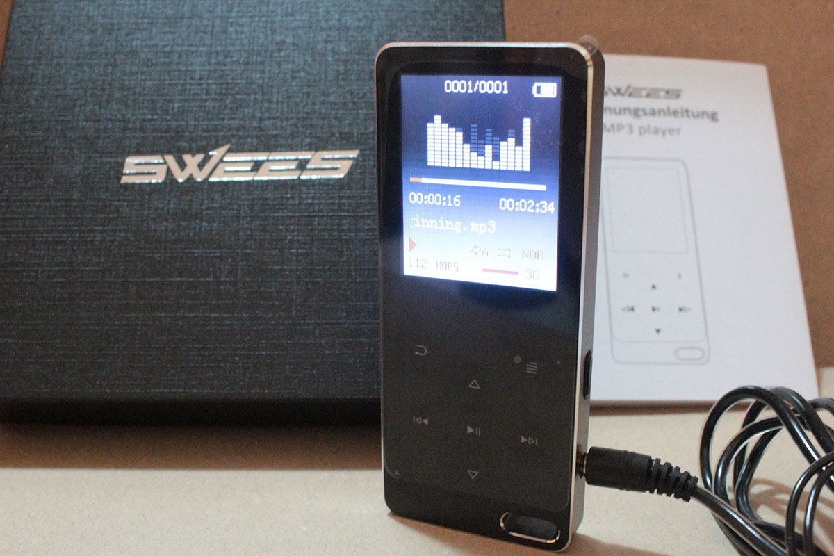 Mp3 player equalizer swees