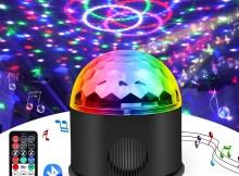 Jomst disco palla musicale rgb