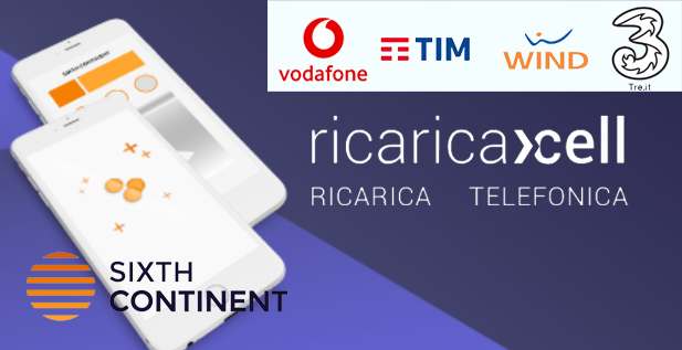 Sixthcontinent ricarica telefonica