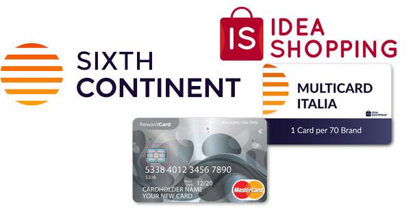 Sixthcontinent ideashopping rewardcard hype