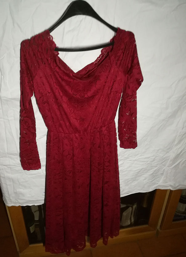 buy online ea5a3 d311e Recensione - Nalati - Abito lungo da donna, vintage anni '50 ...