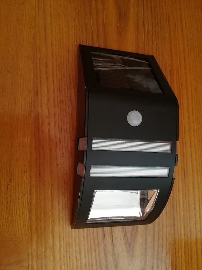 Recensione soojet sl34 lampada da esterno con pannello solare pir - Lampada ad energia solare da esterno ...