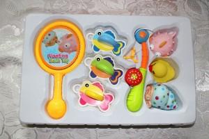 giocattoli-galleggianti-paperella-pesciolini