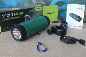 speaker-torcia-bici-campeggio